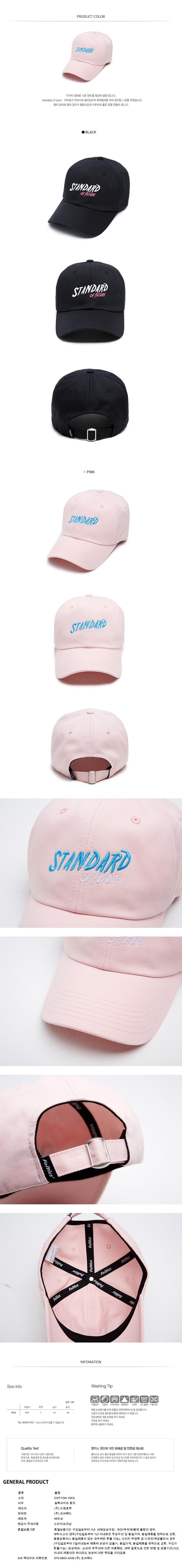 [ FELTICS ] [FELTICS] Standard Of Future Cap Pink (FEPFMCA42)
