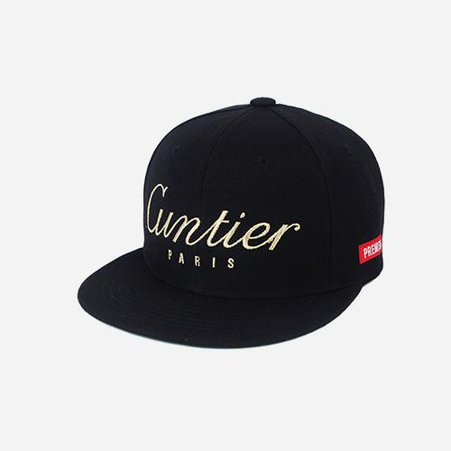프리미어 스냅백 GUNTIER 블랙/골드