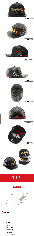 [ PREMIER ] [Premier] Red Snap Walkman PU Black