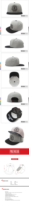 [ PREMIER ] [Premier] Snapback Tempo Fine Strife Black